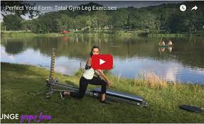 leg form on the total gym