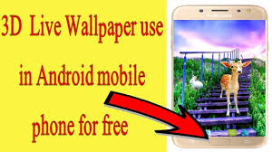 3d live hd nature wallpaper in android