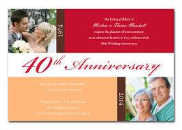 anniversary invitations by invitation