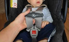 using the car seat harness correctly