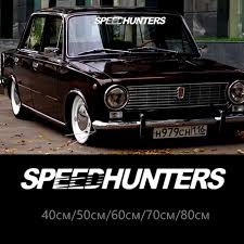 30213 Speed Hunters Car Sticker Reflective Vinyl Car Decal Waterproof Stickers On Car Truck Bumper Rear Window No Background Car Stickers Aliexpress