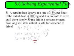 8 6 solving exponential equations in