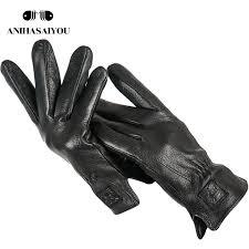 sheepskin mens leather gloves