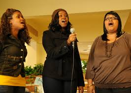 Singing out