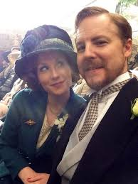 Samuel West @exitthelemming Kitty and Frank in happier times. Great day  with @Amybhayes filming seven scenes of unhap… | Mr selfridge, Frank  edwards, Movie costumes