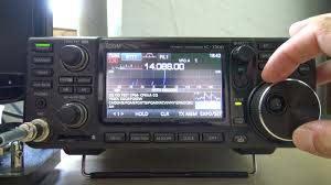 icom ic 7300 rtty decode demonstration