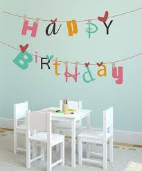 Happy Birthday Banner Reusable Wall Decal By Lollipop Walls On Zulily Today Is Your Birthday Happy Birthday Banners Birthday Banner