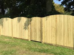 Featherboard Convex Fence Panels Jacksons Fencing