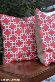 no sew pillow diy tutorial