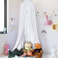 Baby Bedding Round Dome Bed Canopy Kids Play Tent Hanging Mosquito Net Curtain For Baby Kids Reading Playing Sleeping Room Decoration Walmart Com Walmart Com