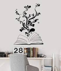 Kids Nursery Room Wall Decals Tagged Books Decal Wallstickers4you