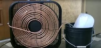 the easy diy way to turn a fan into an