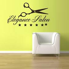 Wall Vinyl Decal Sticker Decals Scissors Hairdresser Barber Salon Shop Stickersforlife