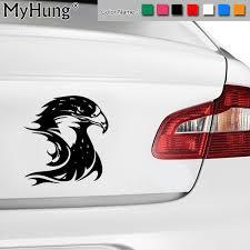 13 3 14 2cm Fire Flame Eagle Hawk Head Car Stickers Vinyl Decal Animal Window Sticker Bumper Accessories Multi Color Car Styling Color 7 Colors Wish