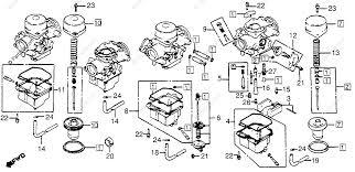 honda motorcycle 1982 oem parts diagram