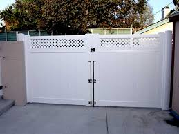 Vinyl Double Swing Gate Design Ideas Pictures Vinyl Concepts