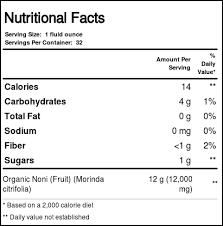 noni juice superfruit tonic 32 fl oz