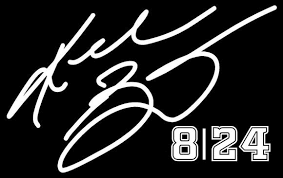 Kobe Bryant 8 24 Basketball Vinyl Decal Sticker Car White 6 Owntheavenue