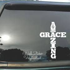 Amazing Grace Car Sticker Quotes Car Decal Diy Amazing Grace Car Decors Waterproof Car Stickers High Quality Cut Vinyl Ca11 Stickers Quotes Car Sticker Quotesvinyl Cutting Aliexpress