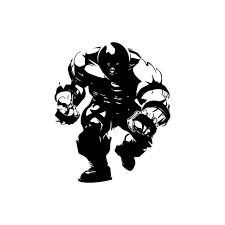 X Men Juggernaut Decal