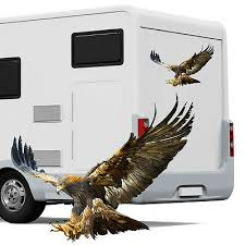 Large Eagle Motorhome Sticker Camper Car Graphic Caravan Horsebox Ethnic Decals Archives Midweek Com