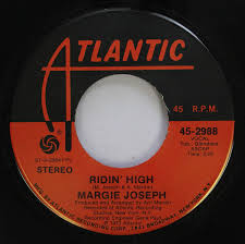 margie johnson 45 RPM ridin'' high / come lay some lovin'' on me ...