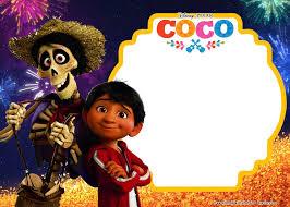 Free Disney Coco Birthday Invitation Template Jpg 2 100 1 500