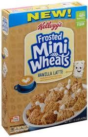 lightly sweetened vanilla latte cereal