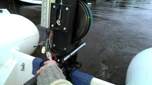 my new electric outboard motor hub
