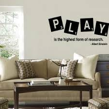 36x6 Play Is The Highest Form Of Research Albert Etsy