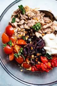 Paleo Mediterranean Tuna Salad with ...