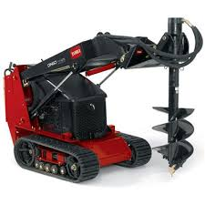 Post Hole Digger Compact Loader Quality Rental Sales