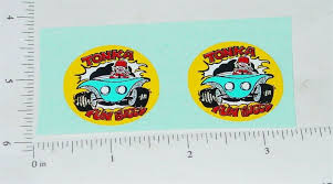 Tonka Fun Buggy Toy Car Replacement Sticker Toy Decals Gasoline Alley Toys