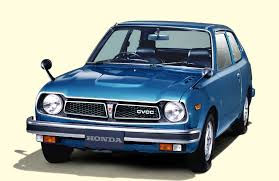1975 honda civic anese nostalgic car