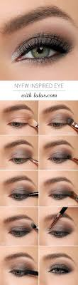 pretty makeup tutorial for green eyes