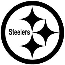 Amazon Com White Pittsburg Steelers Logo Decal Window New Sticker Automotive