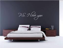 P S I Love You Vinyl Wall Art Decal Stickers Decor Graphics Stencils Amazon Com