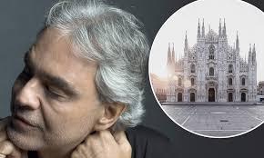 Andrea Bocelli to stream special live concert at Duomo di Milano ...