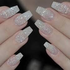 whole white coffin nails
