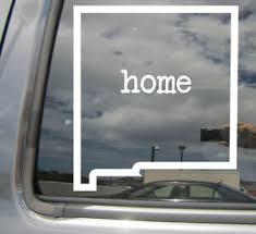 New Mexico State Home Outline Nm Usa America Vinyl Die Cut Decal Sticker 07047 Ebay