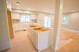 kitchen remodel takes a split level to
