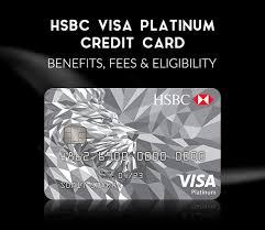 hsbc visa platinum credit card 2019