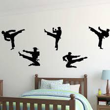 Zoomie Kids Marcie Karate Martial Arts Personalized Wall Decal Wayfair