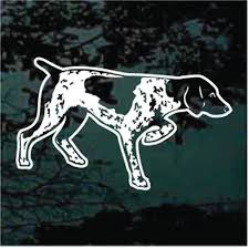German Shorthaired Pointer Car Decals Stickers Decal Junky