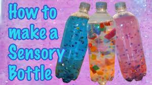 how to make a sensory bottle easy