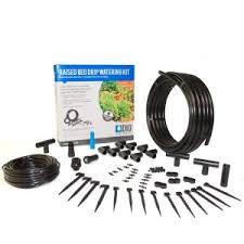 dig raised bed garden drip irrigation