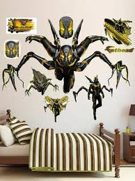Fathead Marvel Yellowjacket Peel And Stick Wall Decal For Sale Online Ebay