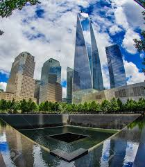 Ground Zero And One World Trade Center Stock Photo, Picture And Royalty  Free Image. Image 118181667.