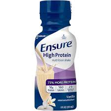 abbott ensure high protein ready to
