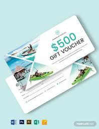 30 travel voucher templates psd ai